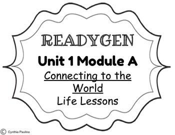 ReadyGen 2014-2015 Unit 1 Module A Concept Board by Miss P