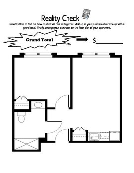 Real World Math Project-Your 1st Apartment by Room 4