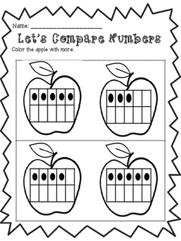 Recognizing Numbers and Counting: Let's Compare Numbers by