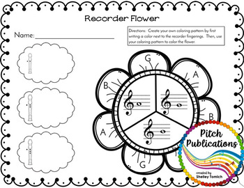 Recorder Resource: BAG Bonanza- 20 Page No-Prep worksheets