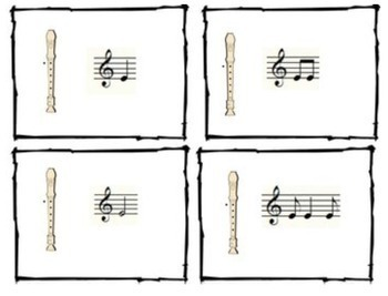 Recorder Songs and Activities for B, A, G, and E by Aileen