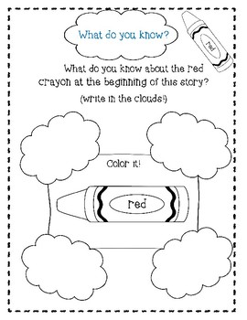 Red, A Crayon's Story by Michael Hall-A Complete Companion