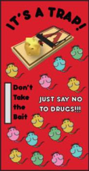 Red Ribbon Week, Door, Bulletin Board, Just say no to