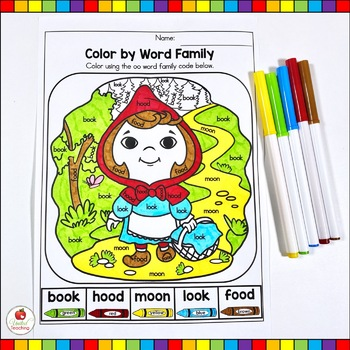 Red Riding Hood Fairy Tale Activities (No Prep ) by United