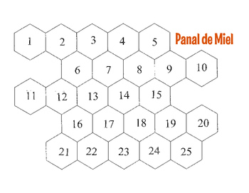 Spanish Reflexive Verb Honeycomb Partner Game by The Profe