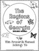 Regions of Georgia Research Manual- Georgia 3rd Grade