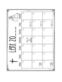 Religion Interactive Notebook: Lent by Grace and Gratitude