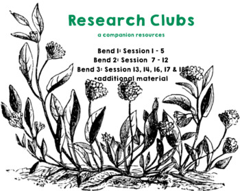 Lucy Calkins Research Clubs (Grade 3) Lesson Plan Slides