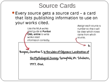 Research Notecards Teaching Resources Teachers Pay Teachers