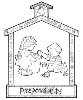 Responsibility Pages Coloring Pages