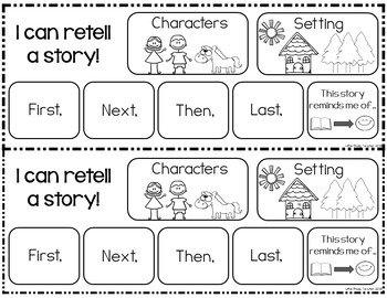 Retelling Bookmarks (Fiction and Nonfiction) by Little