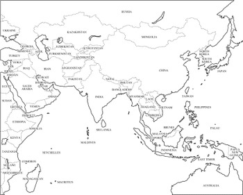 Review World Map Skills and Basic Geography by
