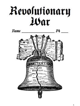 Revolutionary War Notes Packet / Revolution (Version 2