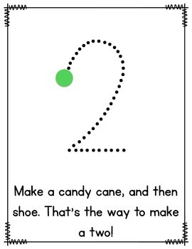Number Writing Posters by Teaching With Heart by Gina