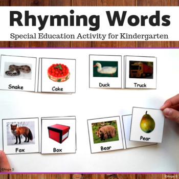 Rhyming Words by Angie S | Teachers Pay Teachers