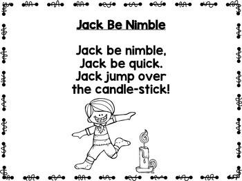 Rhythms & Rhymes: Jack Be Nimble {Nursery Rhymes} by