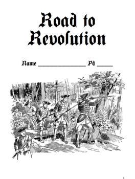 Road to Revolution Notes Packet / French & Indian (Version