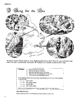 Robinson Crusoe 10 Chapters with Student Activities and