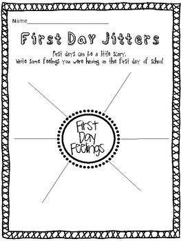 Rock on First-ies! {Back to school activities for Primary