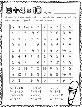 Rockin' 1st Grade Math Facts {Common Core Aligned