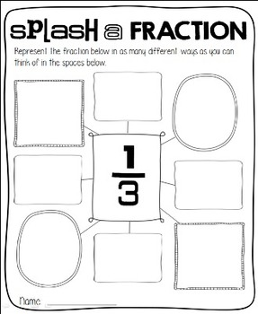Rockin' First Grade Fractions {Common Core Aligned 1.G.A.3