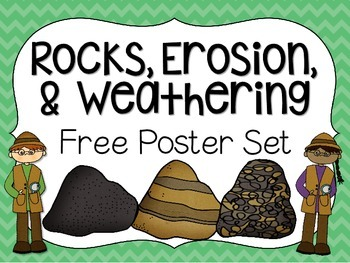 weathering and erosion venn diagram evinrude wiring teaching resources teachers pay poster set