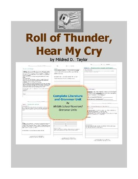 roll of thunder hear my cry plot diagram 1980 kz1000 wiring activities teaching resources teachers complete literature and grammar unit