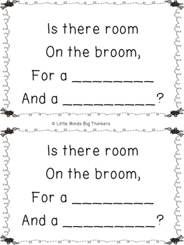 Room on the Broom Rhyming Activity by Little Minds Big