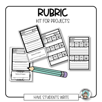 Art Rubric Kit for Projects by Expressive Monkey-The Art