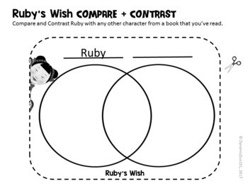 Ruby's Wish Interactive Notebook Differentiated Reading