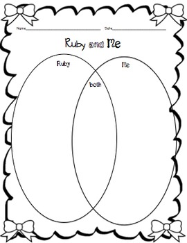 Ruby the Copycat Craftivity & Printables by Teach from the