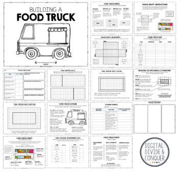 Run A Food Truck, Project Based Learning Activity (PBL