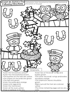 S.L.A.P. St. Patrick's Day {Speech Language Activity Pack