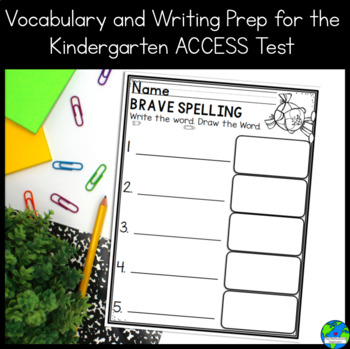 SIOP Vocabulary Strategy and Prep for ACCESS writing for