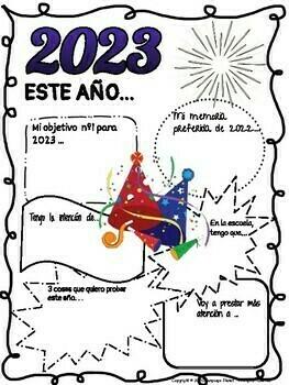 SPANISH- New Year Resolutions 2020/Propósitos de Año Nuevo