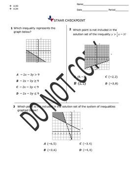 STAAR EOC Algebra 1