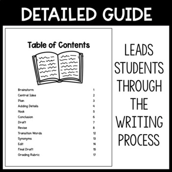 STAAR Expository Writing Guide for Students by I Teach