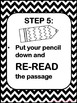 STAAR Reading Test Prep Posters + Song {Grades 3-5} by