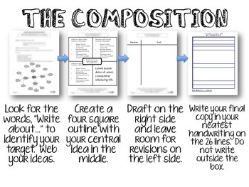 STAAR Writing Strategies for 4th Grade--Bilingual by
