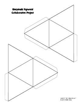 (STEM) STEAM: Sierpinski Pyramid Collaborative Project by