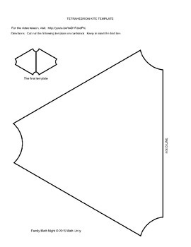 STEAM: Tetrahedral Kite Collaborative Project by Family