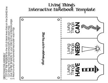 STEM: Ecological Organization Interactive Notebook (INB