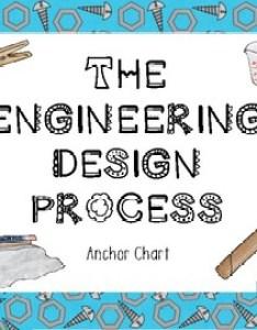 Stem engineering design process anchor chart poster also by hoppy little rh teacherspayteachers