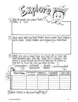 NGSS Grade 5 Properties of Matter Investigations Paper