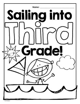 Sailing Back to School/All About Me/First Day of School