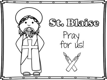 Saint Blaise Mini Book and Blessing of the Throats