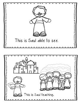 Saul (Paul) His Conversion- Bible Lesson (All About Series