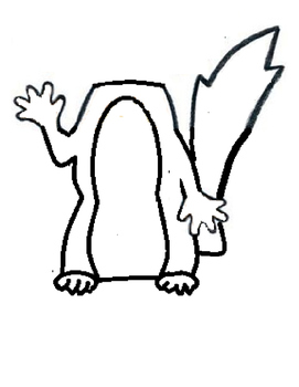 Scaredy Squirrel Printable Puppet Craft by Fun and