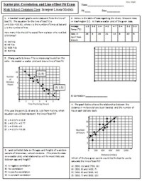 Line Of Best Fit Worksheet With Answers - resultinfos