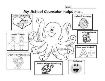 School Counselor Introduction Lessons K-12 by The Inspired